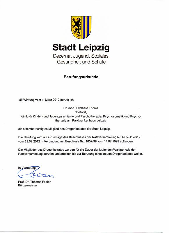 Dr. med. Edelhard Thoms - Privatpraxis